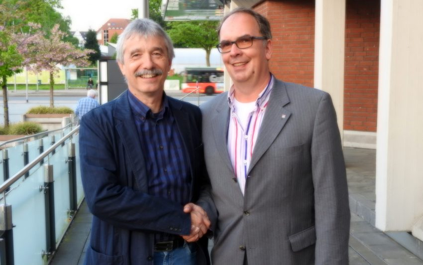 v.l. Dr. Horst Hoffmann, Frank Heu.