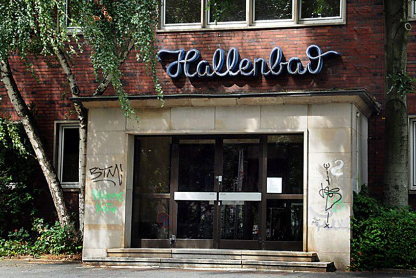 Das ehemalige Hallenbad: Pottporus stellt Perspektiven für das Hallenbad vor.
