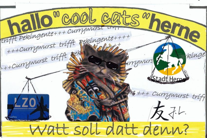 Die halloherne cool cats wollen auch nach China.