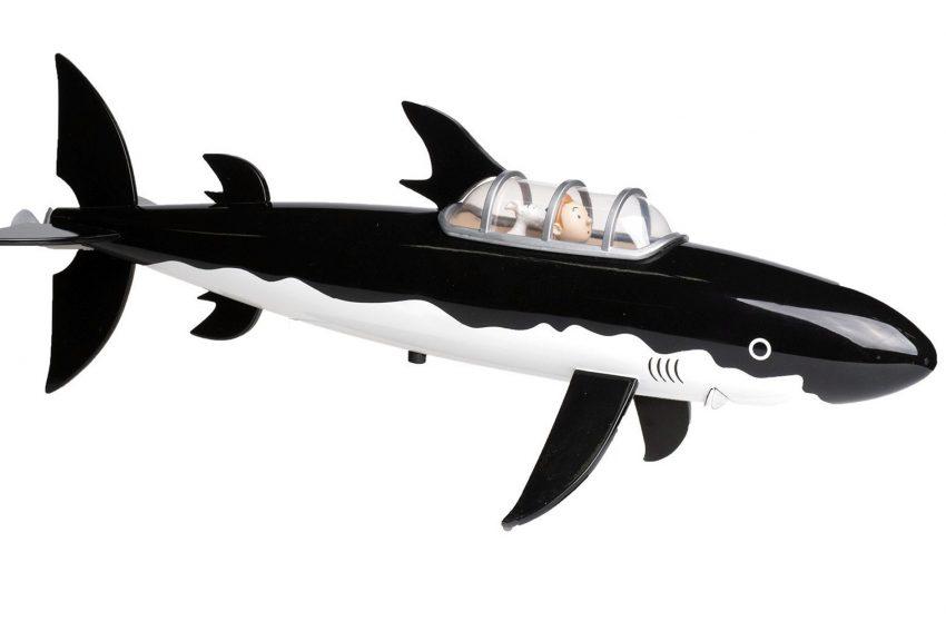 Haifisch-U-Boot von Tim und Struppi.