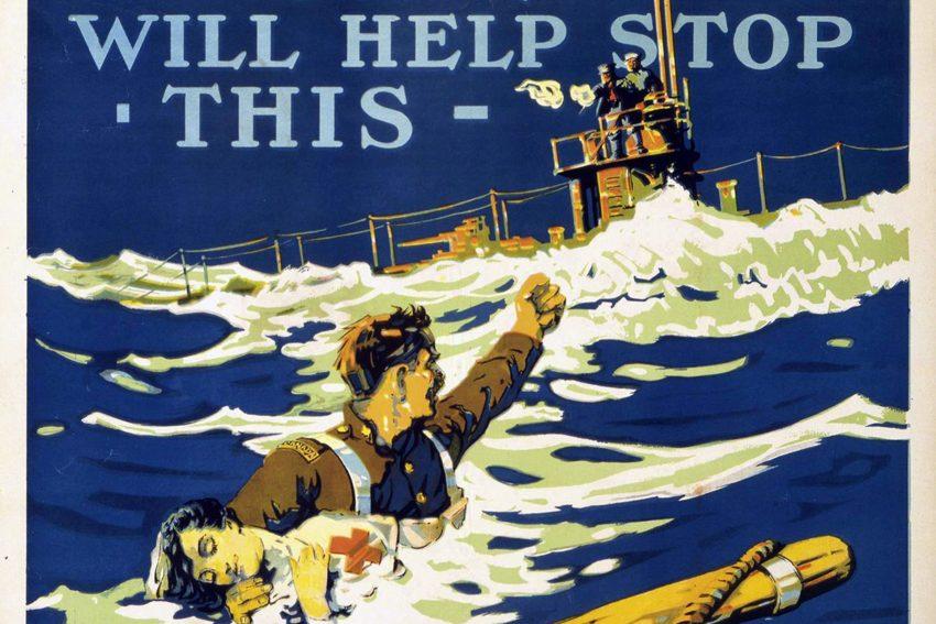 Plakat für kanadische Kriegsanleihen.
