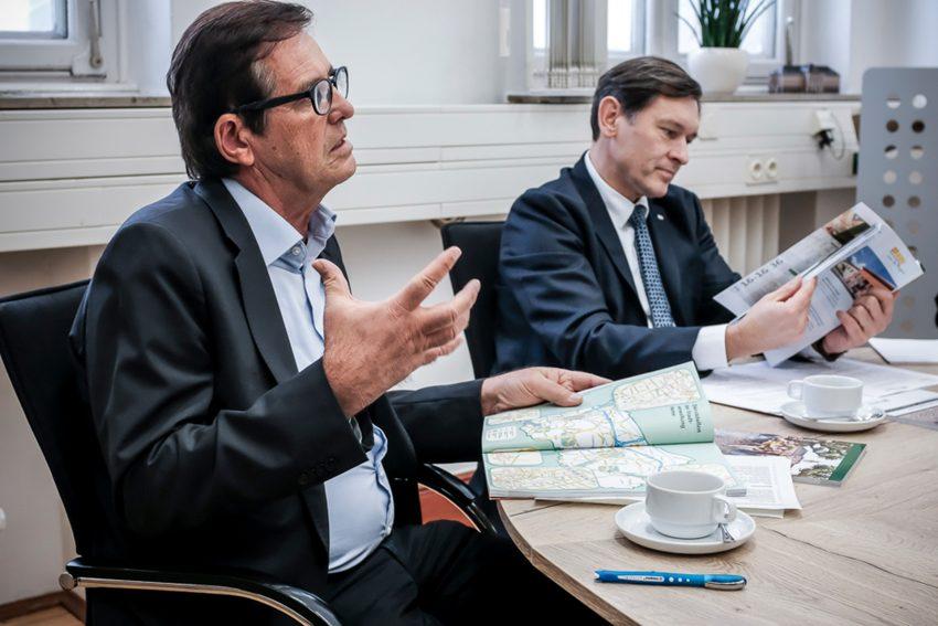 v.l. Horst Martens, Frank Dudda.