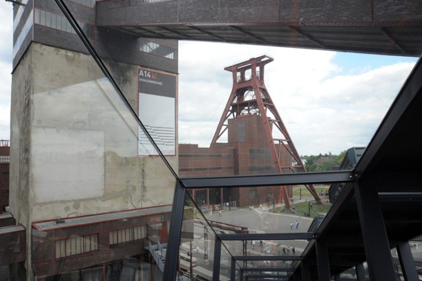 Zeche Zollverein in Essen.