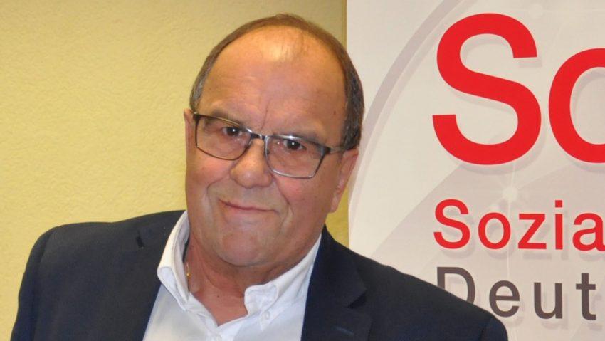 Gerd Griese, Kreisvorsitzender des SoVD Herne.