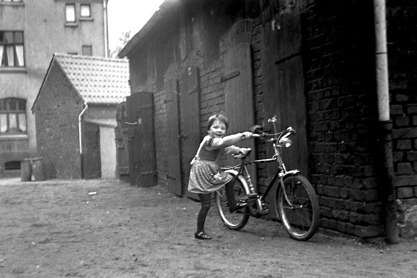 Zechensiedlung Julia in Holsterhausen: Ich weiß wie Fahrradfahren geht.