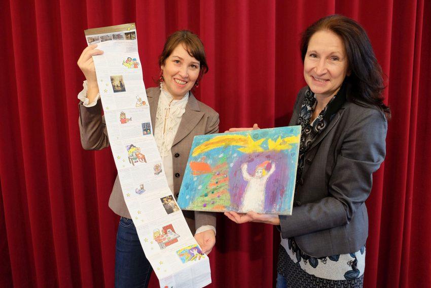 Ingrid Janssen und Andrea Prislan freuen sich auf den Strünkeder Advent.