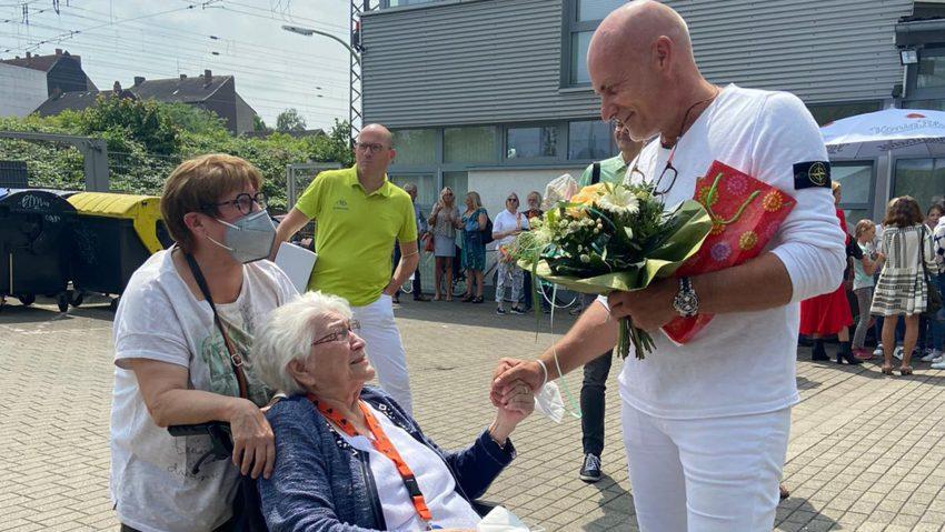 Hausarzt Markus Bruckhaus-Walter feierte sein 25. Jubiläum als niedergelassener Arzt.