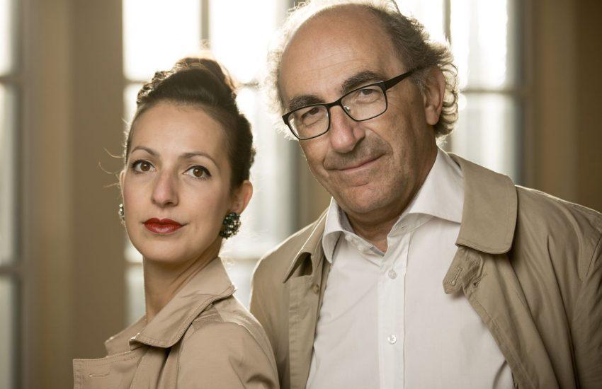 Tochter und Vater: Marie und Jean-Claude Seferian.