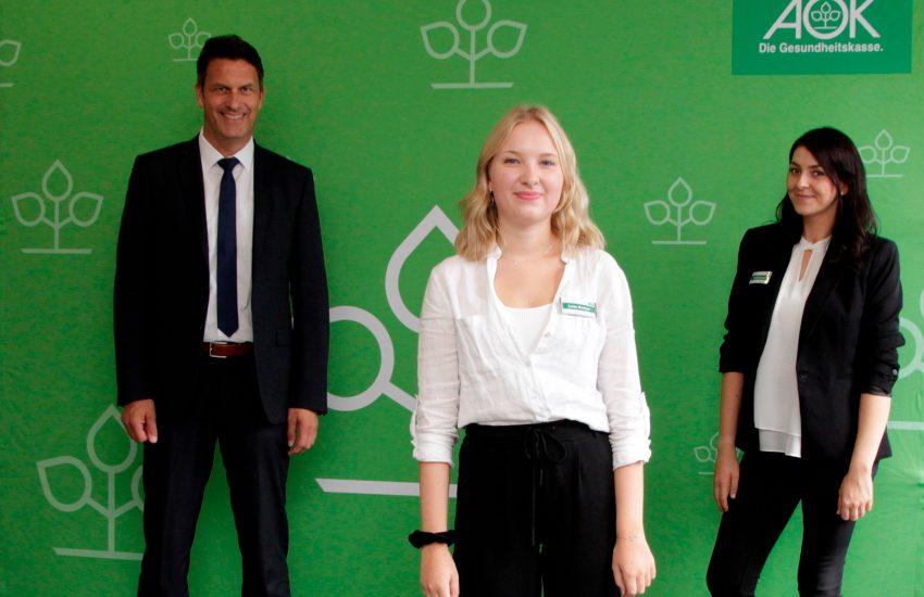 Jörg Kock, Lena Groten aus Herne und Sandy Gresch