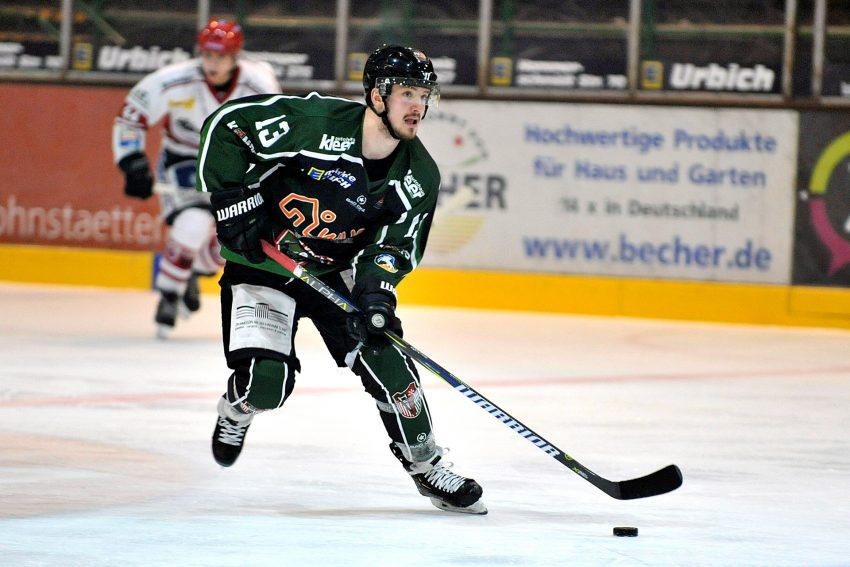 Eishockey: HEV - Regensburger Eisbären.