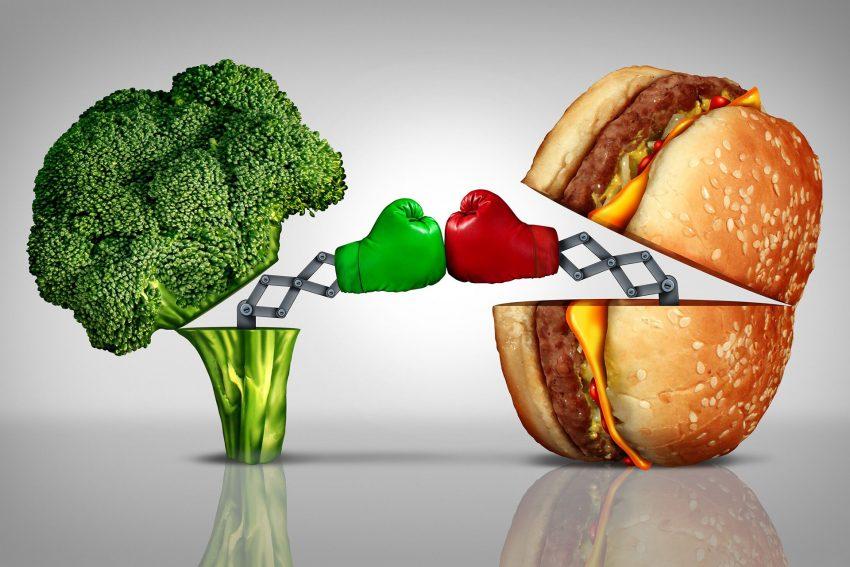 Brokkoli oder Burger? Mehr als die Hälfte der Bevölkerung weiß nicht, wie gesunde Ernährung funktioniert. Insbesondere junge Familien konsumieren vermehrt Fertigprodukte, die meist zu viel Kalorien, Zucker, gesättigtes Fett und Salz enthalten.