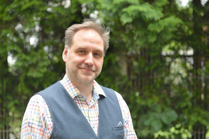 Thomas Bloch, der Oberbürgermeister-Kandidat der FDP.