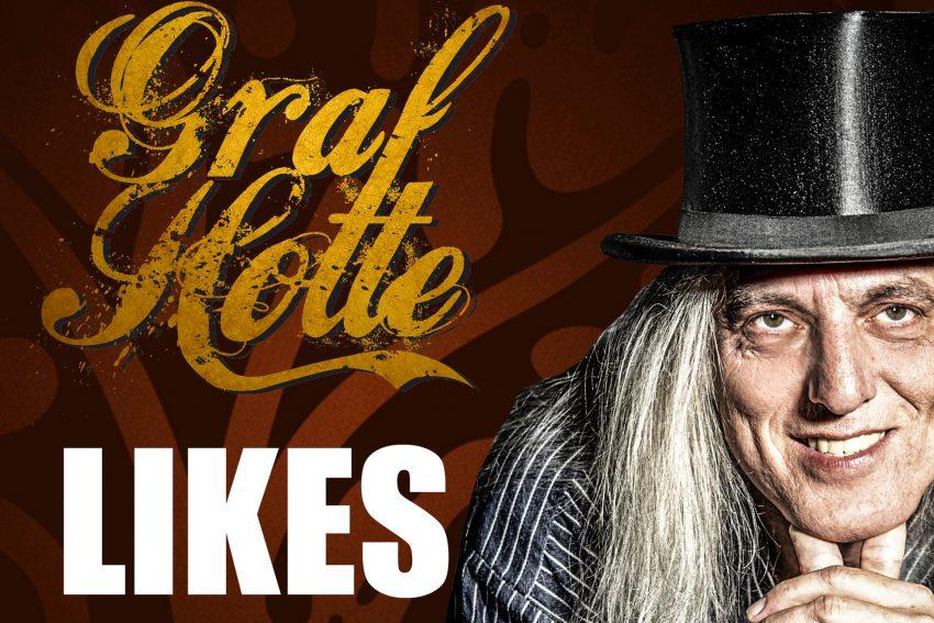 Graf Hotte bringt in der Corona-Zeit seine 6. CD heraus.