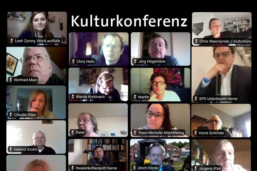 Digitale Stadtkonferenz - Arbeitskreis Kultur der SPD-Fraktion.