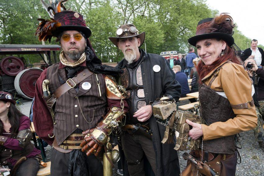 Das Dampf-Festival auf der Zeche Hannover.