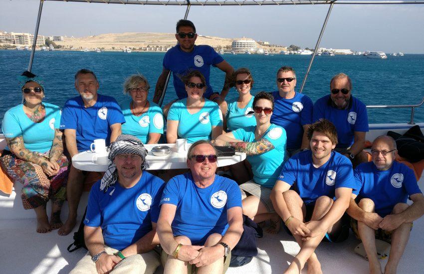 Vereinsfahrten nach Ägypten zum roten Meer sind für die Mitglieder immer wieder ein Highlight.