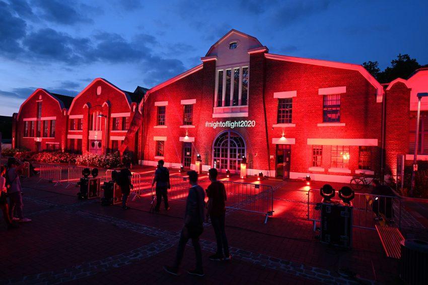 Night of Light 2020 in Herne