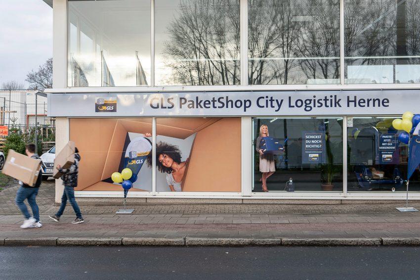 Der GLS Paketshop.