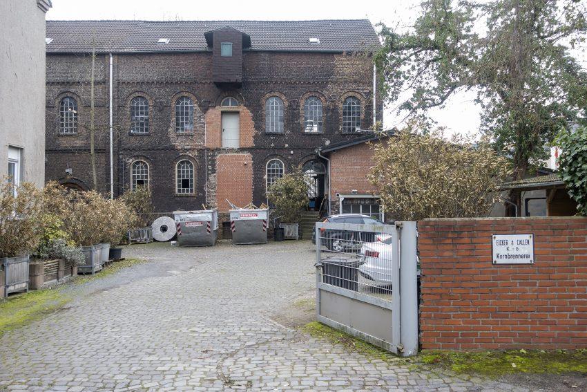 Die Kornbrennerei Eicker & Callen KG in Herne, am Donnerstag (25.03.2021).