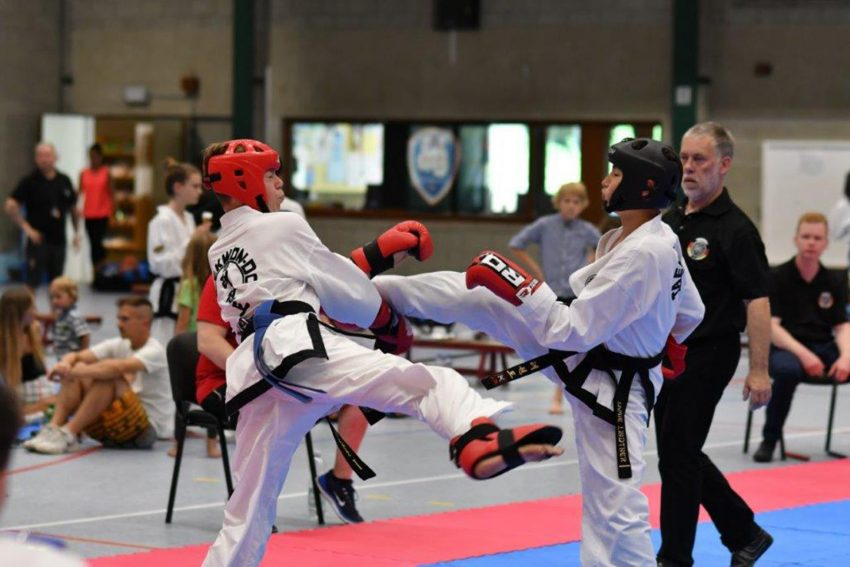1. Stadtmeisterschaft in Taekwondo in Herne.