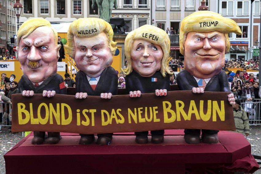 Düsseldorfer Straßenkarneval.
