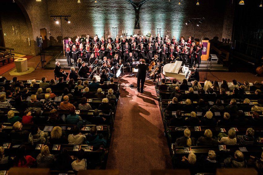Konzert in der Freifaltigkeitskirche.